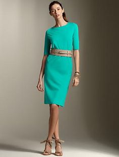 Skirt needs to be just a little longer :)  Great color