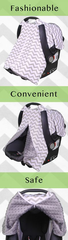 Carseat Covers are an essential part of your mommy repertoire! http://www.amazon.com/Peekaboo-Carseats-Kids-Such-Fashionable/dp/B011M7IIW6/ref=sr_1_15?s=baby-products&ie=UTF8&qid=1442502726&sr=1-15&keywords=carseat+canopy Not only are they fashionable but the Peekaboo Opening™ offers added convenience and safety for your baby.