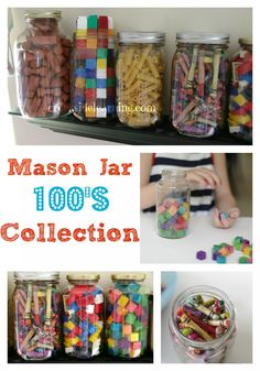Colecciones de 100. mason jar 100s collection