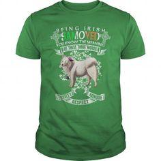 Samoyed Saint Patricks Day Being Irish Samoyed Dog #Samoyed�