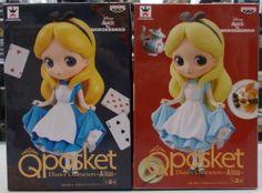 バンプレスト Q posket Disney Characters -Alice- ディズニー アリス2種セット