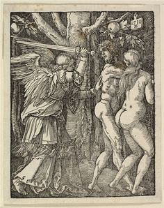 'The Expulsion from Paradise' (1510) by Albrecht Durer