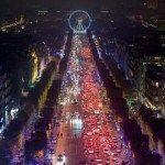 Christmas Lights in Champs Elysées - Paris