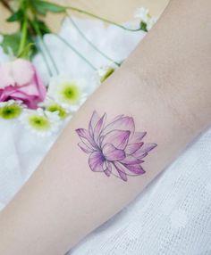 Lotus Tattoo by Tattooist Banul