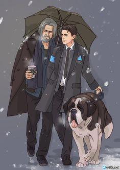 Sumo, Hank, Connor