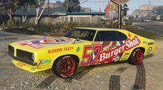 Burger Shot Stallion Gta Side Gta Muscle Cars Pinterest