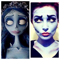 Tim Burton's Corpse Bride Emily Makeup #timburton #film #makeup #corpsebride #halloween