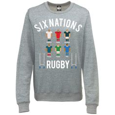 SIX NATIONS RUGBY TOURNAMENT WOMENS SPORTS COMPETITION SWEATSHIRT JUMP – Batch1