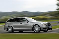 2012 Mercedes-Benz C63 AMG Wagon... I think it's time to trade in the 04 wagon......