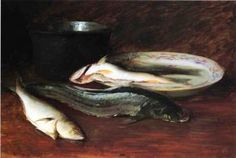 The Athenaeum - Still Life with Fish (Thèodore Gèricault - Date unknown)