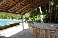 Image result for island bamboo house