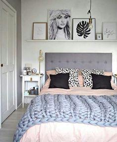 Pastel Teen Bedroom