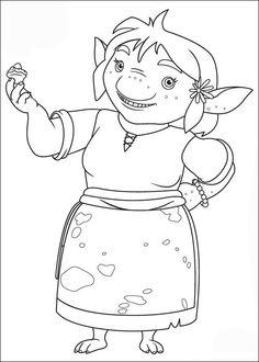 Mike de Ridder Kleurplaten voor kinderen. Kleurplaat en afdrukken tekenen nº 6