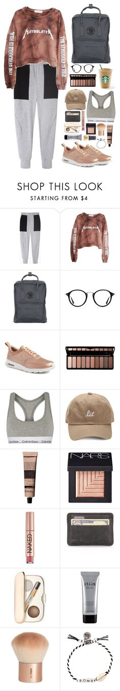 """""""Untitled #310"""" by emmeleialouca on Polyvore featuring Rachel Comey, High Heels Suicide, Fjällräven, Ray-Ban, NIKE, e.l.f., Calvin Klein Underwear, Aesop, NARS Cosmetics and Urban Decay"""