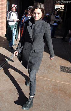 Astrid Berges-Frisbey au festival du film de Sundance à Park City, Utah, le 19 janvier 2014.