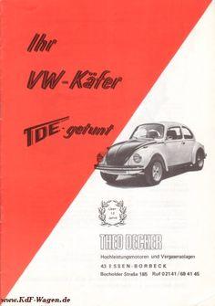 VW - 1973 - Ihr VW Käfer TDE getunt - [2162]-1