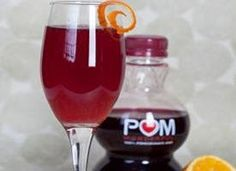 A perfect Champagne cocktail for the holidays. The pomegranate juice gives the Champagne a festive red color, and a splash of fresh orange juice adds just the right amount of sweetness. 1 Cocktail