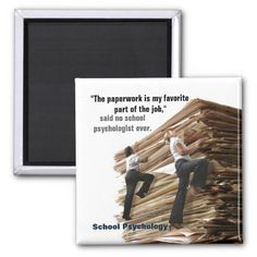School Psychologist Mountain Climber Magnet by schoolpsychdesigns of Zazzle.com