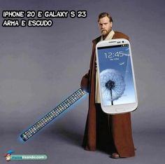 iphone, funny obi wan kenobi sword, samsung galaxy s, star wars Samsung Galaxy S, Iphone Vs Samsung, Galaxy S3, Iphone 10, Apple Iphone, Troll, Pokemon, Star Wars, Obi Wan