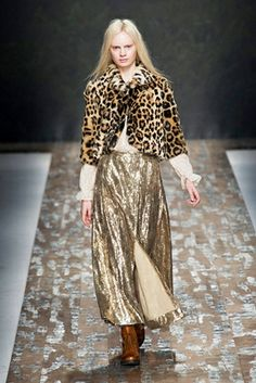 leopard jacket with sequined skirt