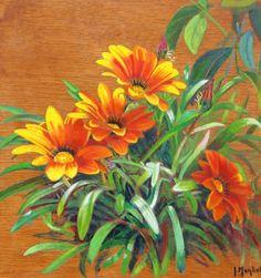 Paisajes y Bodegones: Flores pintadas en acuarela