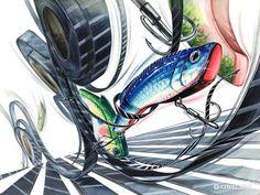 2018 문제의 핵심 포인트를 찾아라~! 월간그린섬 5번째 이야기 대구 미술학원 그린섬 : 네이버 블로그 Art Sketches, Art Drawings, Fish Logo, Photo Art, Architecture, Creative, Illustration, Artwork, Painting