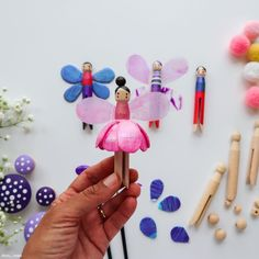 Fairy Tale Crafts, Crafts For Kids, Arts And Crafts, Diy Ideas, Craft Ideas, Mermaid Fairy, Diy Artwork, Paint Set, Summer Days