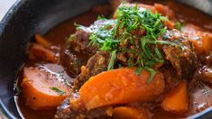 Double Carrot Stew Recipe | Fresh Tastes Blog | PBS Food--most delicious thing i've eaten in a long time!