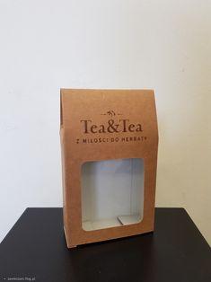 Pudełko na herbatę z logo