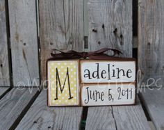 1995 personalized baby announcement blocks etsy baby boy girl birth name blocks wood custom nursery room decor gift shower personalized announcement negle Gallery