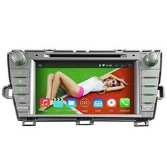 Special Offers - YINUO QUAD CORE 16GB Android 4.4.4 8 inch 1024600 HD Touch Screen Car Stereo for Toyota Prius 2009 2010 2011 2012 2013 Non JBL In Dash Navigation AV Receiver w/ DVD DVR Radio iPhone Airplay Steering Wheel Control Bluetooth Wifi Ready Left Driving Sliver Color - In stock & Free Shipping. You can save more money! Check It (June 29 2016 at 08:47AM)…
