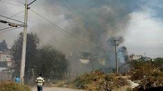La tarde de este domingo se reportaron incendios en predios de la colonia Obrera, de la colonia Solidaridad y el Cerro del Quinceo, los primeros dos de ellos con quema ...
