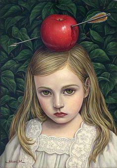 APPLE BLOOD   Shiori Matsumoto ノスタルジックな少女たちの世界を描く松本潮里の絵画作品集
