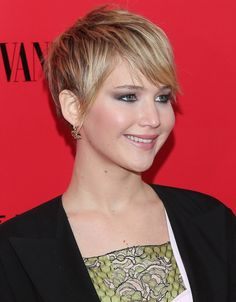 jennifer lawrence short haircut photos | ... at 945 × 1213 in Jennifer Lawrence Shorter Haircut and Hairstyle 2014
