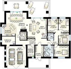 Goliat III projekt - Партнёр 171.21 m² + garaż 32.38 m²