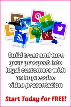 Build trust and turn your prospect into loyal customers with an impressive video presentation.This Is The Next BIG Thing In Video Marketing. #videomarketing #video #marketingdigital #marketing #socialmedia