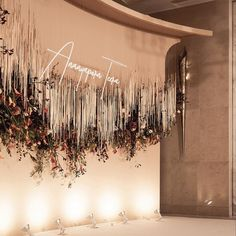 Party Lights Background 58 Ideas For 2019 Design Floral, Deco Floral, Floral Wall, Decoration Evenementielle, Backdrop Decorations, Wedding Mood Board, Wedding Stage, Wedding Wall, Engagement Decorations