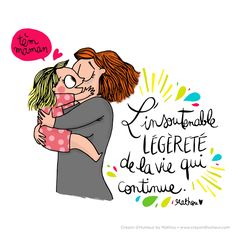Poésie LOr du temps Un plouc chez les bobos Funny Illustration, Illustrations, French Cartoons, Cute Words, Cartoon Quotes, French Quotes, Positive Attitude, Positive Vibes, All You Need Is Love
