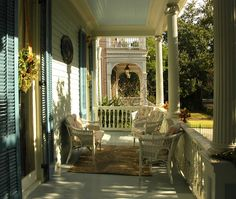 Beautiful Southern Porch