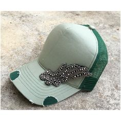 Custom Made Hats, Riding Helmets, Embellishments, Trending Outfits, Unique Jewelry, Handmade Gifts, Green, Vintage, Etsy