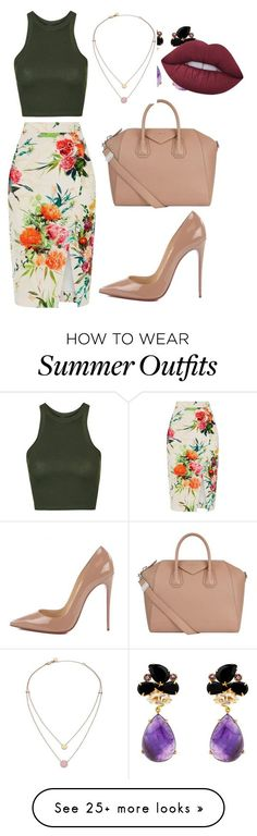 "Collection Of Summer Styles    ""My First Polyvore Outfit"" by mshudson24 on Polyvore featuring Oasis, Topshop, Christian Louboutin, Givenchy, Michael Kors and Lime Crime    - #Outfits  https://fashioninspire.net/fashion/outfits/summer-outfits-my-first-polyvore-outfit-by-mshudson24-on-polyvore-featuring-oasis-topshop-c/"