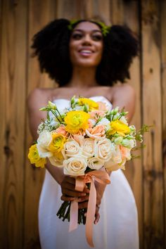 If you're into the natural look and arequick to adorn your tresses with florals,...