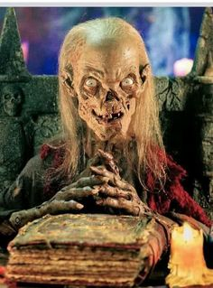 Tales from the crypt Now really! I don't look like this during the daylight! You…