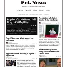 Pvt. News  http://ift.tt/1CeNjph #PvtNews Or Google #PvtNews #News #HipHop #Sports #Pictures #Celebrity #EndHomeLessness #Horoscope #Money #TV #Politics #Leisure #WorldNews #Health #Deaths #Science & #BreakingNews #ArondTheNation #USA #NetWorking #Face #Trump2016 #Views #RealEstate #Trending #HotTopics #Gossip #HashTags & #More