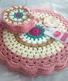 Resultado de imagem para organizadores em crochet