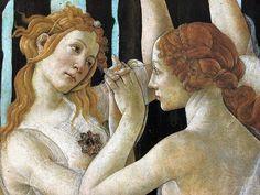 Sandro Botticelli, Primavera, c.1477-82, detail