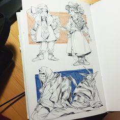 Sketchbook,Early 2015 on Behance