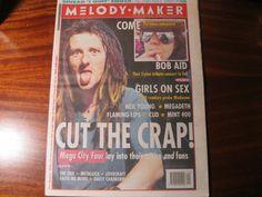 Melody Maker Oct 31st 1992 Bob Dylan, Madonna, Neil Young, Mega City Four.