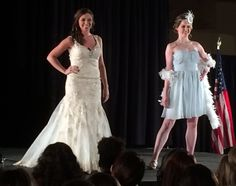According to Splendid Bridal at the Bridalrama fashion show, the roaring 20's is still very popular for spring weddings.