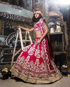 wedding Lehega by Ekta Solanki.  indian wedding.  Indian wedding clothes